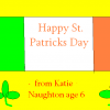 Happy St. Patrick's Day from Katie