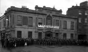 Irish Citizen Army outside Liberty Hall, Dublin, 1914