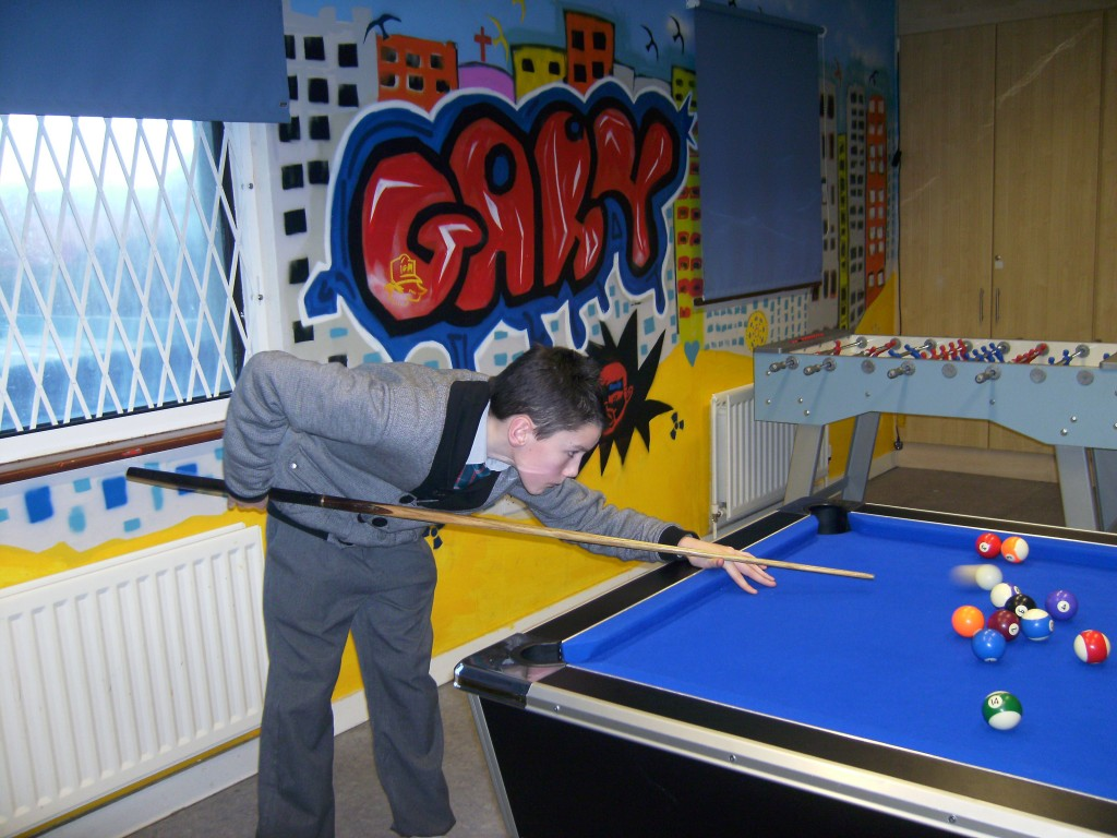 Pool at the Fountain Youth Project
