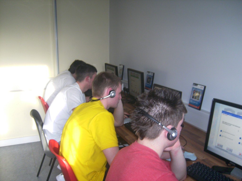 Computer Training at the Fountain Youth Project
