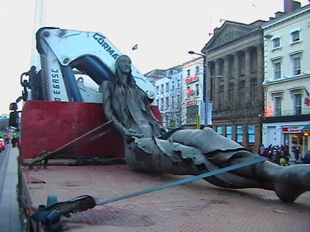 Anna Livia statue Dublin