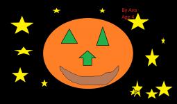 Ava's Halloween Picture