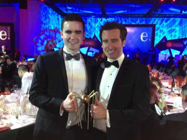 Digital Hub-based Bull or Bear win Eircom Golden Spider Award 2013 for best Start-Up!