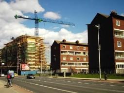 Chamber Court flats prior demolition
