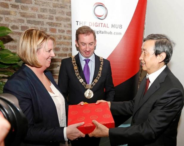 Chinese Vice Premier Ma Kai Visits The Digital Hub In Dublin 8