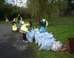 Clean-Up at St James's Walk, Dublin 8, by the Church of God