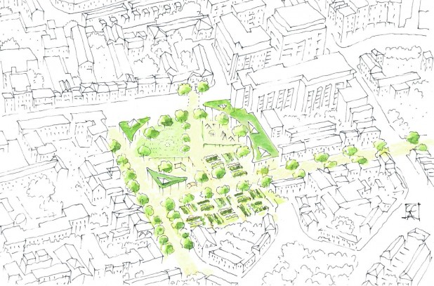 Cork Street Park Campaign - Proposed Development Plan Design