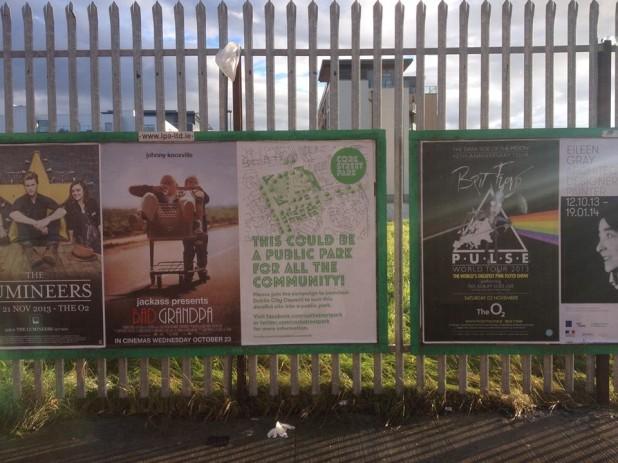 Cork Street Park Poster Campaign