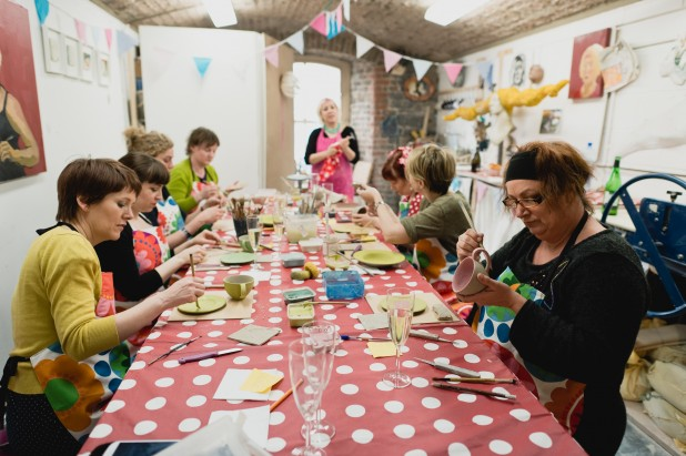 Creative Parties Dublin – Fun Ceramics Party for Birthdays Hens and Team Building