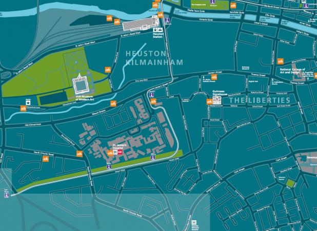 Dublin Bikes Map Of New Stations 2013