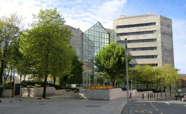 Dublin City Council Civic Offices, Wood Quay, Dublin, Ireland