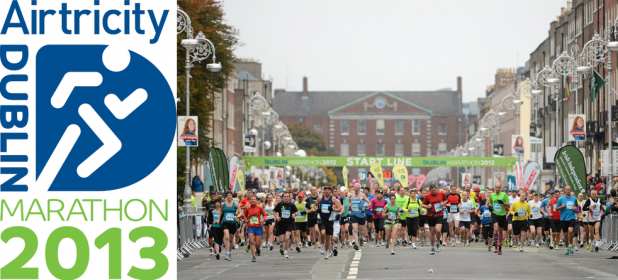 Dublin City Marathon 2013 + Start Line 2012 + Airtricity Dublin City Marathon Logo
