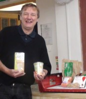 Norman, the manager of the Dublin Food Cooperative in Newmarket, Dublin 8