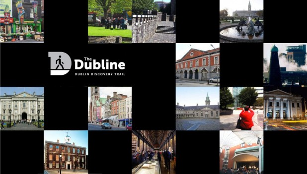 Dubline Trail Poster and Logo