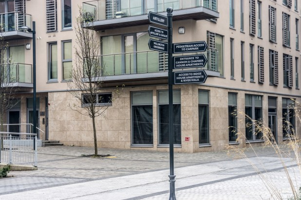 Empty Ground Floor Retail Unit @ Clancy Quay, Dublin 8