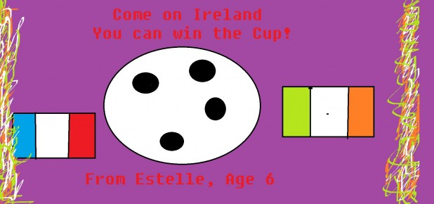 Estelle's Ireland Picture Euros 2016