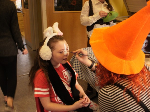 Face Painting At Fountain Youth Project Halloween Party