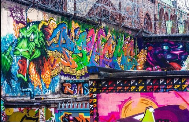 Francis Street Graffetti Park