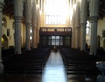 View from the Refurbished Altar at St. Catherine's Church on Meath Street in Dublin 8