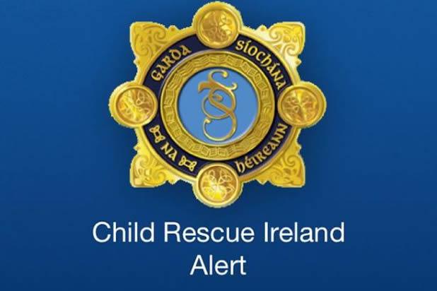 Garda Child Rescue Alert (CRI) app screenshot