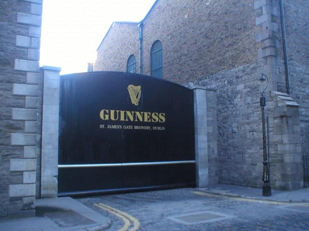 Guinness Brewery, St. James's Gate Dublin 8, Ireland