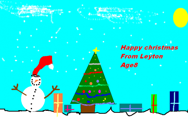 Happy Christmas, from Leyton