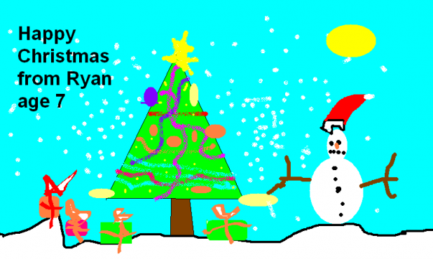 Happy Christmas, from Ryan