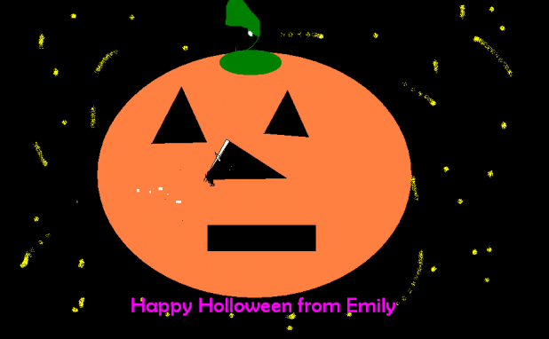Happy Halloween from Emily - Ireland Youth Project Picture