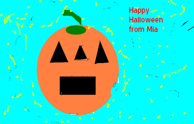 Happy Halloween From Mia - Dublin Youth Project Picture