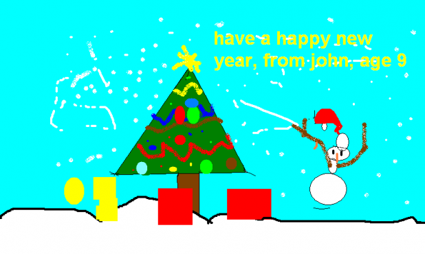 Have A Happy New Year, from John