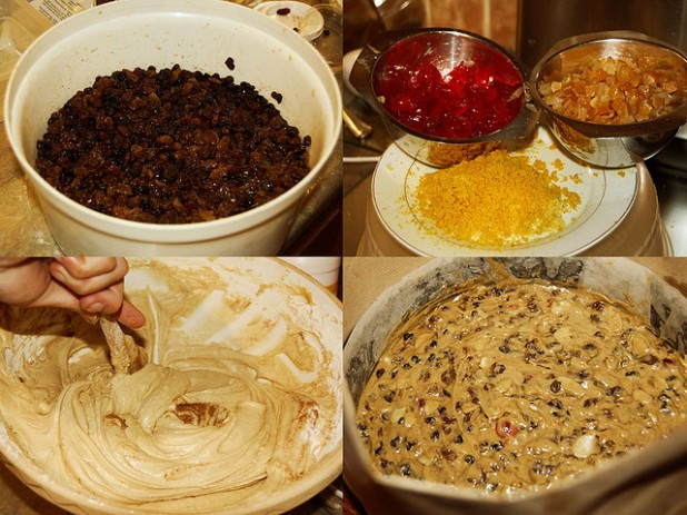 Homemade Christmas cake mixture recipe guide