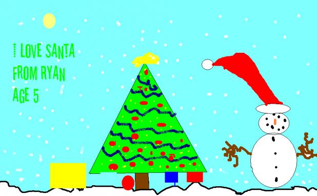 I Love Santa, from Ryan