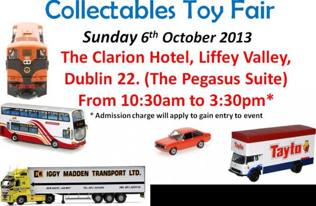 Irish Collectables Toy Fair 2013 Dublin