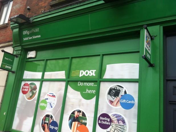 James Street Post Office Dublin 8