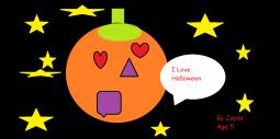 Jayda's Halloween Picture