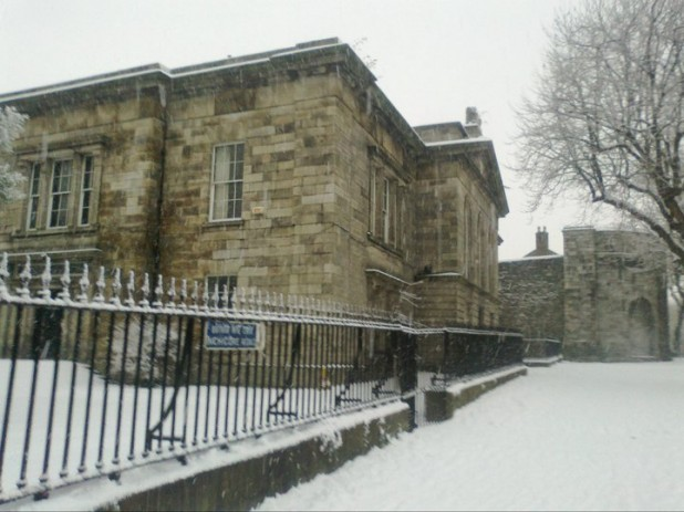 Kilmainham Courthouse, during the snow/cold/bad weather of November and December 2010