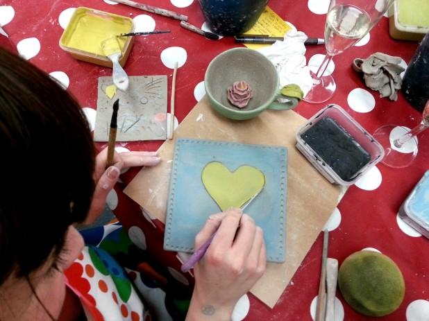 Make Handmade Ceramic Tile Dublin Ireland