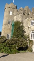 Malahide Castle Tour - the front of Malahide Castle