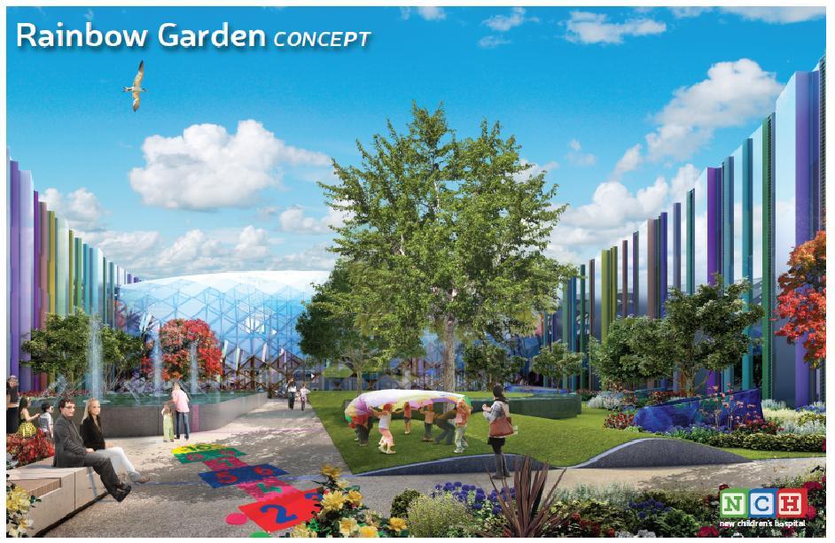 Rainbow Garden Childrens Hospital