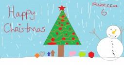 Rebecca's Christmas asge 6