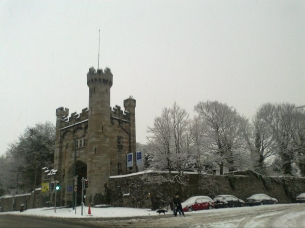 Royal Hospital Kilmainham, during the snow/cold/bad weather of November and December 2010