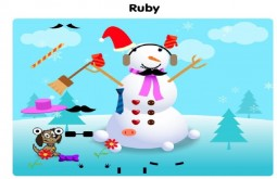 Ruby's Snowman Age 5