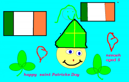 St Patrick by Nevaeh