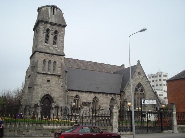 St James Church and Cemetery, Dublin 8, Ireland - side view