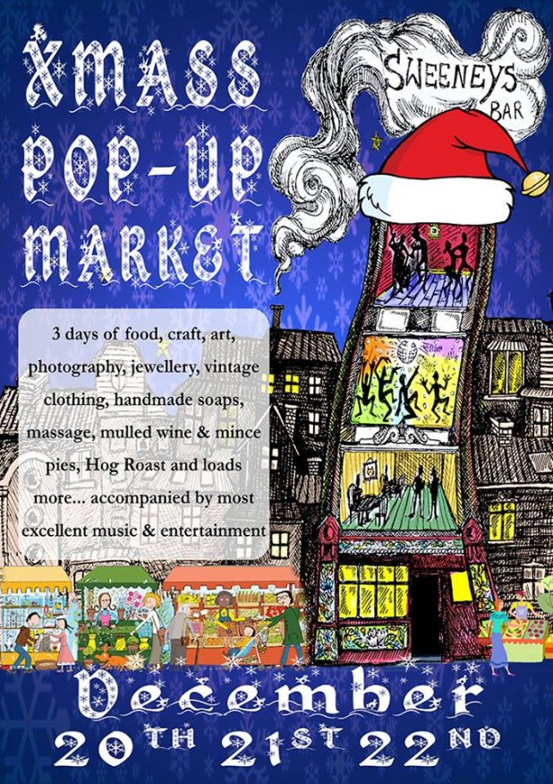 2013 Sweeneys Christmassy 3 Day Pop-Up Market - Dame Street, Dublin 1, Ireland