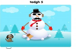 Tadgh's Snowman Age 5