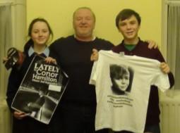 Taylor, James and Conor Hamilton @ FRG hq (frg.ie) December 2013