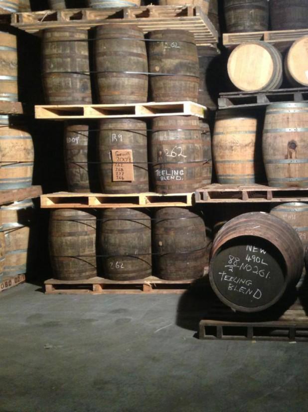 Teeling Whiskey Barrels, Dublin Whiskey Distillery, Clontarf