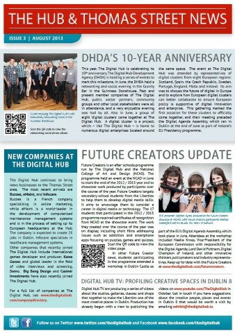 The Hub & Thomas Street News - Issue 3