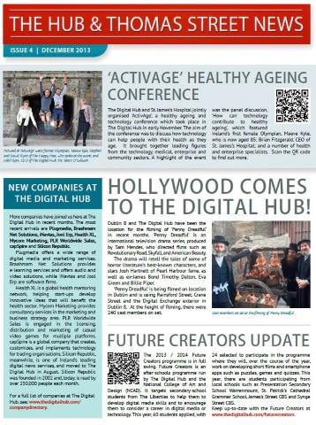The Hub & Thomas Street News - Issue 4